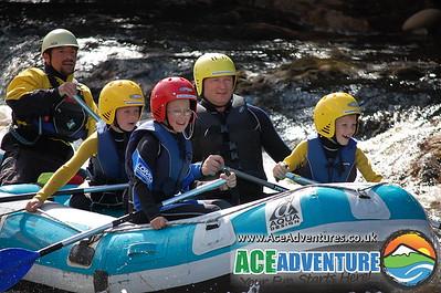 Family White Water Rafting