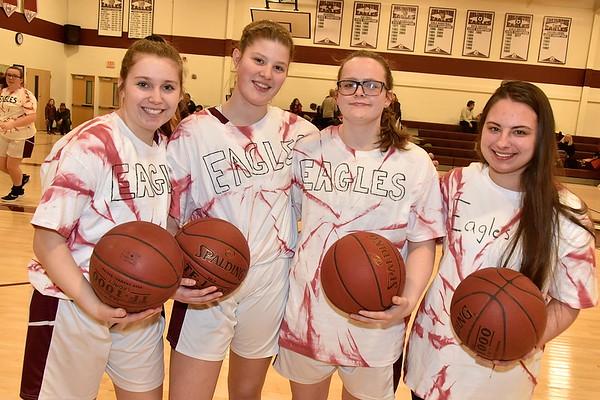 A Senior Moment...AMHS Girls Varsity Basketball photos by Gary Baker