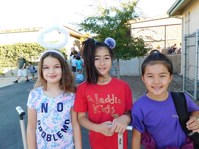 LCE Crazy Hairstyles Add Fun to Say No to Drugs Week