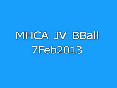 MHCA JV BBall 7Feb13