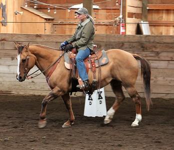 Nonny Largent Cowboy Dressage at Cascadian Stables