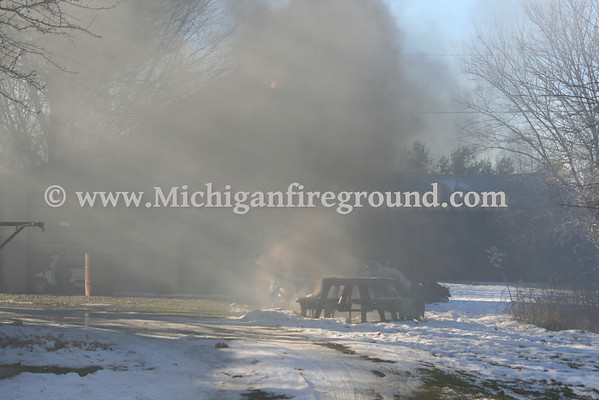 1/9/13 - Onondaga car fire, 3540 Bellevue Rd