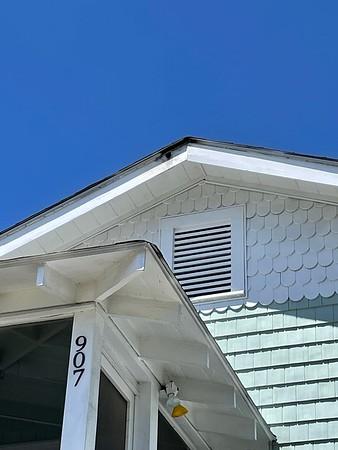 907 Lovell Ave, Tybee Island  -  Lightning Strike  April 2021