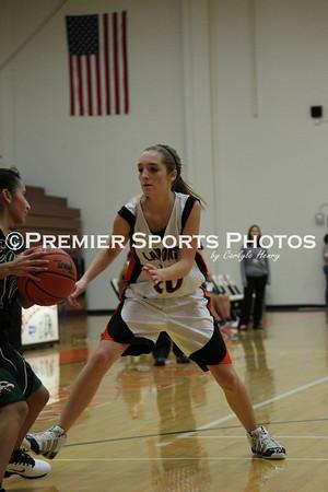La Porte Girls Freshman Basketball vs Pasadena 12/16/2011