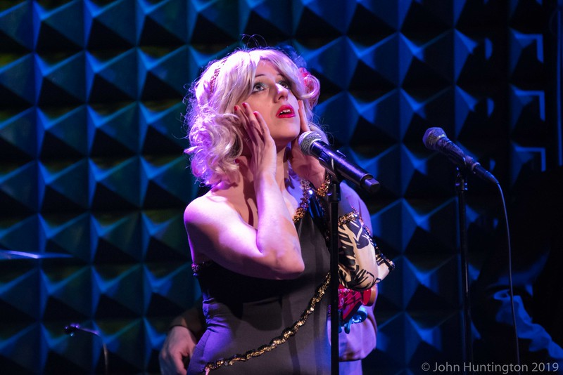 The Loser's Lounge Blondie vs. The Pretenders, at Joe's Pub, March 7, 2015