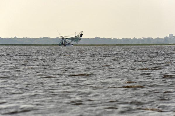 """Miss Savannah II"" Sunk near Brunswick, GA 05-03-09"
