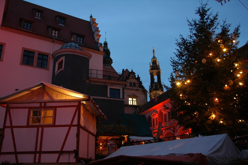 Medieval Christmas Market - Dresden, Germany