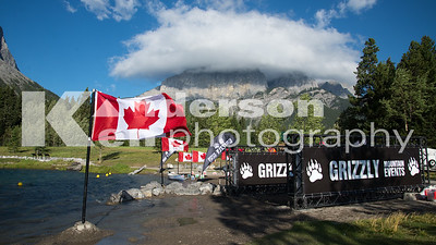 2013 Grizzly Canmore Open Water Swim
