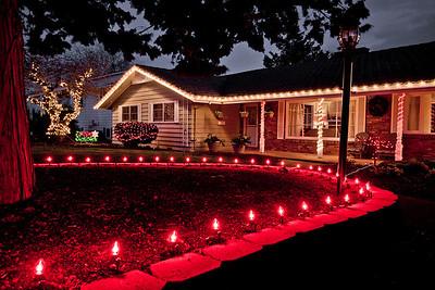 Pileggi christmas lights and other shots
