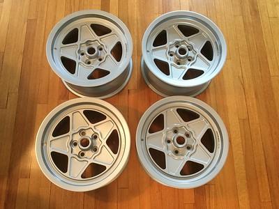 Rare Ferrari 308 wheels factory option 16 inch OEM