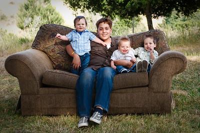 Strange and Gardner Families - June 2009