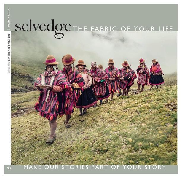 Selvedge Magazine #98 Jan/Feb 2021