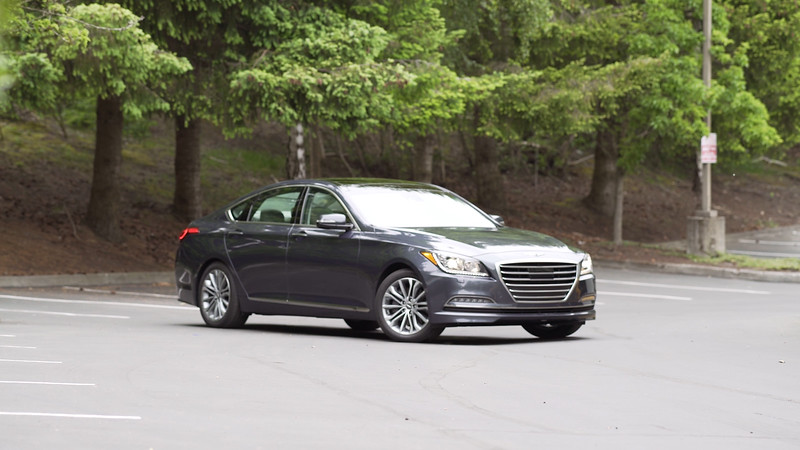 2017 Genesis G80 AWD 3.8 Parked Reel