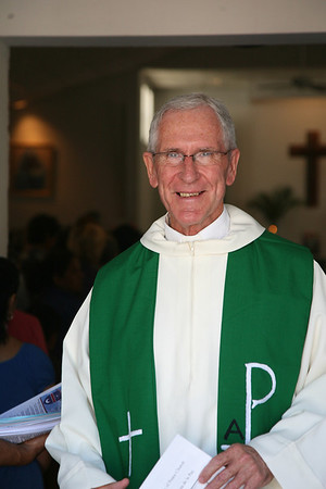 Mass Co-Celebrated with Bishop Kevin Downling OLQP Church