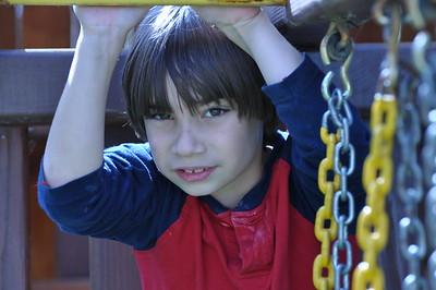 Swing Set after Gymnastics