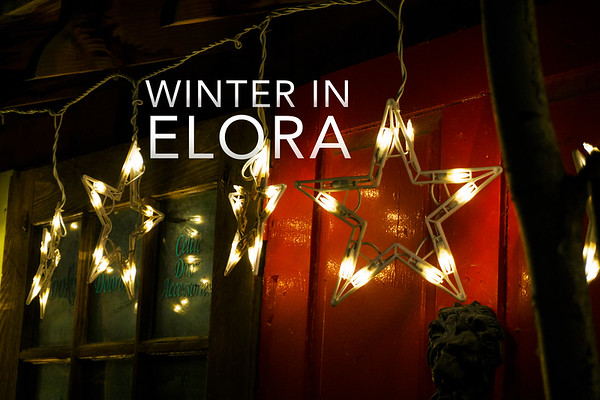 Winter in Elora