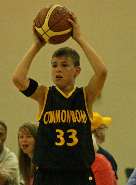 12U Common Bond at 2007 South Lyon basketball tournament