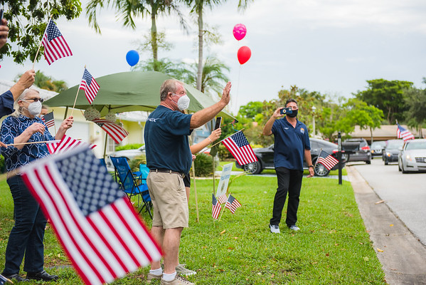 Honor Flight South Florida Parade