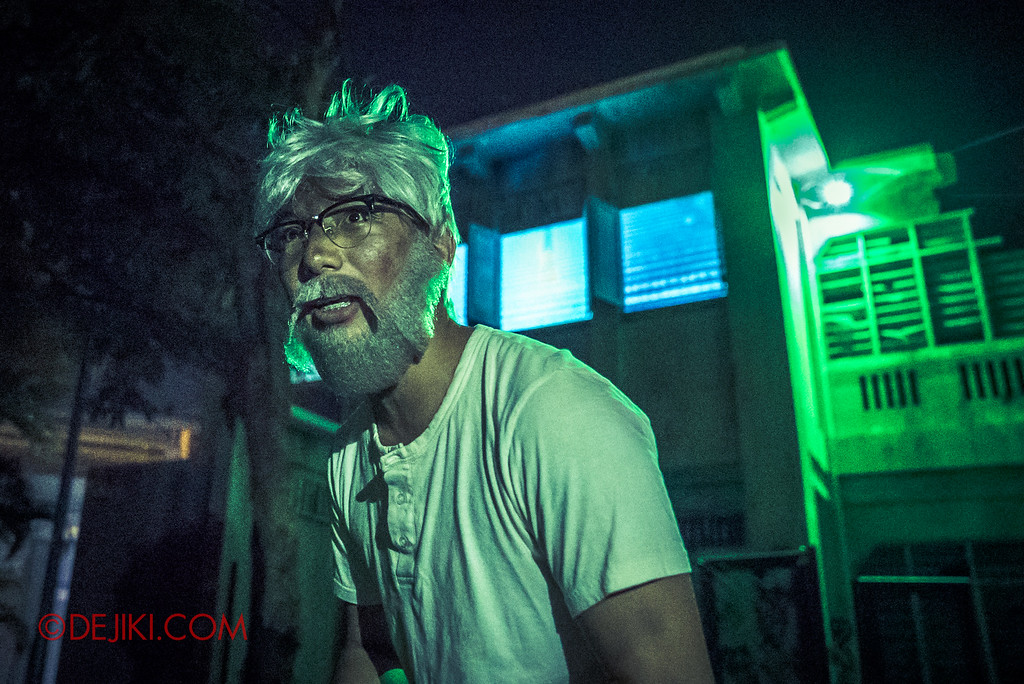 Halloween Horror Nights 6 - Old Changi Hospital / The Old Malay Uncle