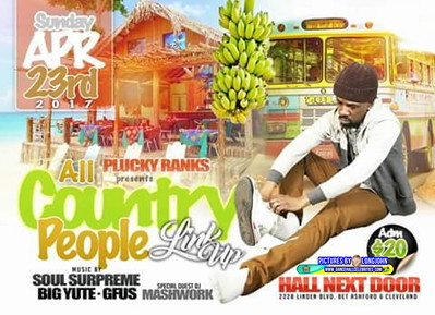 """PLUCKY RANKS ANNUAL """"COUNTRY PEOPLE LINK UP 2017""""(18)"""