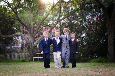 First Holy Communion Boys 2015