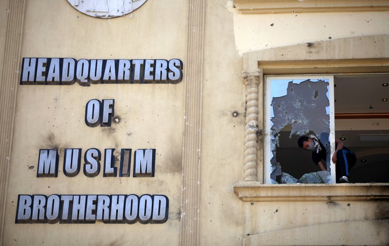 """. <p>8. MUSLIM BROTHERHOOD <p>In Egypt, now almost as unpopular as Christians and Jews. (unranked) <p><b><a href=\'http://www.twincities.com/breakingnews/ci_24155632/egypt-bans-muslim-brotherhood-group\' target=\""""_blank\""""> HUH?</a></b> <p>   (AP Photo/Khalil Hamra)"""