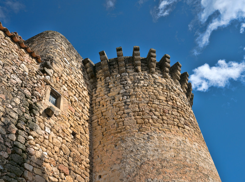 Old Stone Walls in Peyrolles en Provence, France