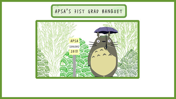 APSA Grad Banquet