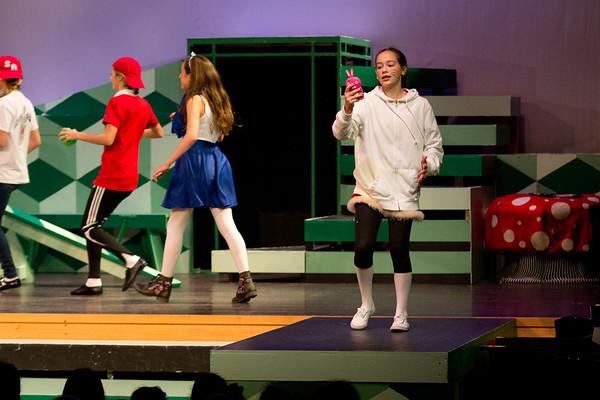 Alice in Wonderland, Eighth Grade Musical