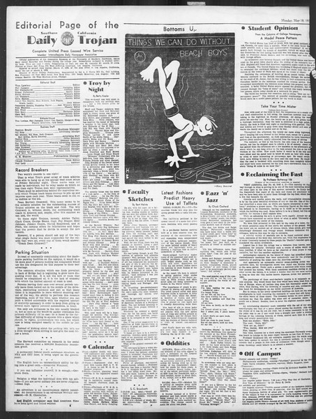 Daily Trojan, Vol. 27, No. 138, May 18, 1936