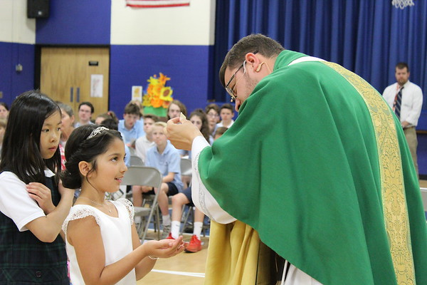 First Communion Mass 05-21-18