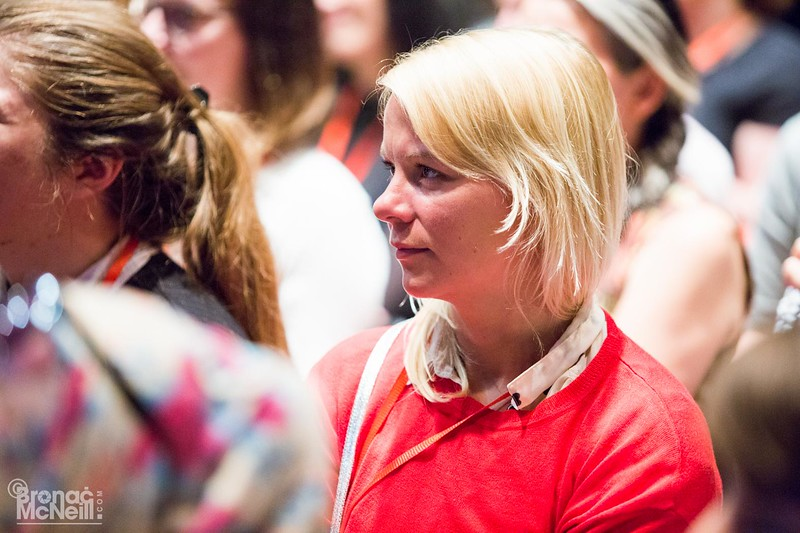 Include Yourself - The Guilty Feminist Leadership Event,  22May2017, ©Bronac McNeill