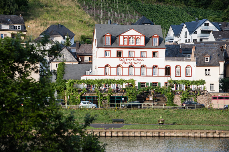 Day 9 - another stunning day on the Mosel, July 12th