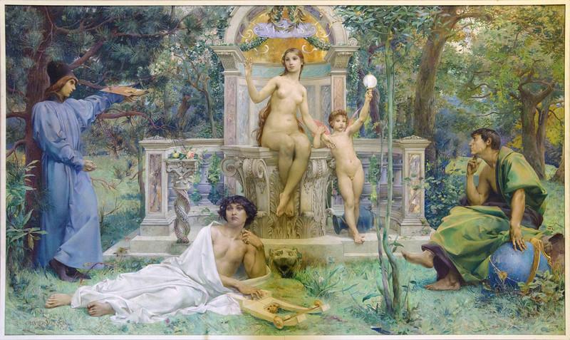 Luc-Olivier Merson - La Verité, 1901