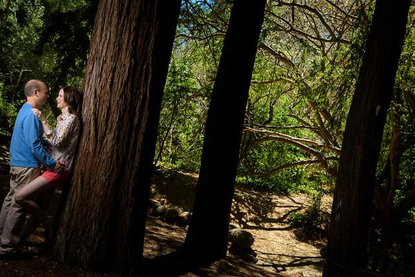 Mary and John (Engagement Photography) @ Shoup Park, Los Altos, California
