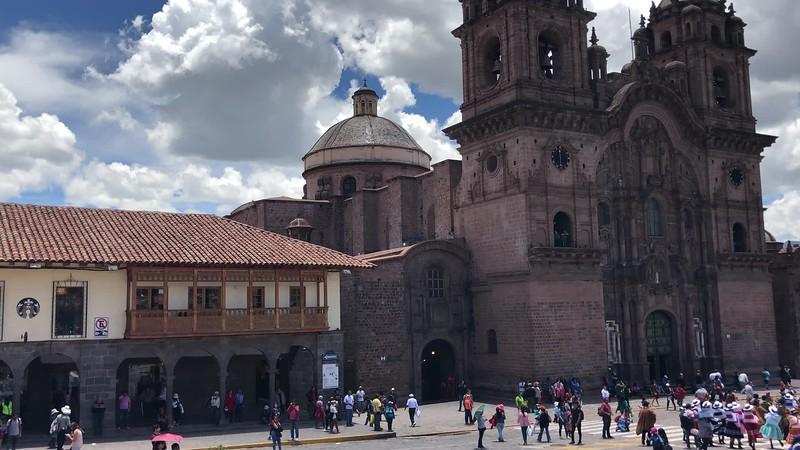 Imagen y Sonido: Plaza de Armas, Cusco, Peru