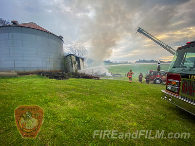 Schuylkill County - Union Twp. - Building Fire - 05/14/2020