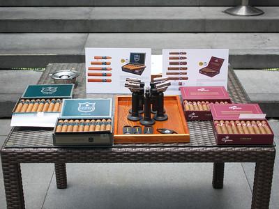 Chaine des Rotisseurs brunch with Azan & Roberto Duran cigars