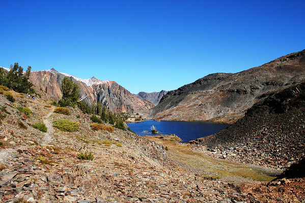 HIKING THE TWENTY LAKES-INYO NATIONAL FOREST