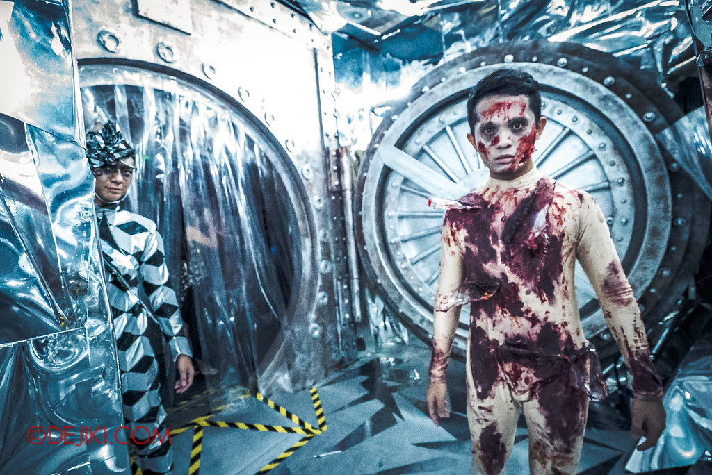 Halloween Horror Nights 7 Review - Inside The Mind / Mind Vault