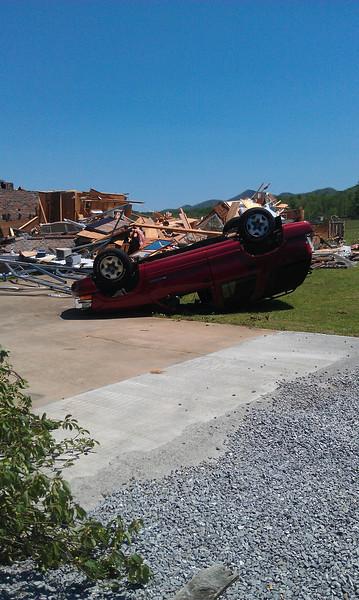 Tornado Damage Storm - May 2011