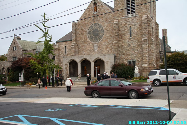 HFD Blue Mass 10/07/12