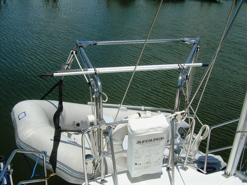 Dinghy and Davits.JPG