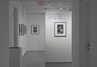 Ted Russell photos of Bob Dylan