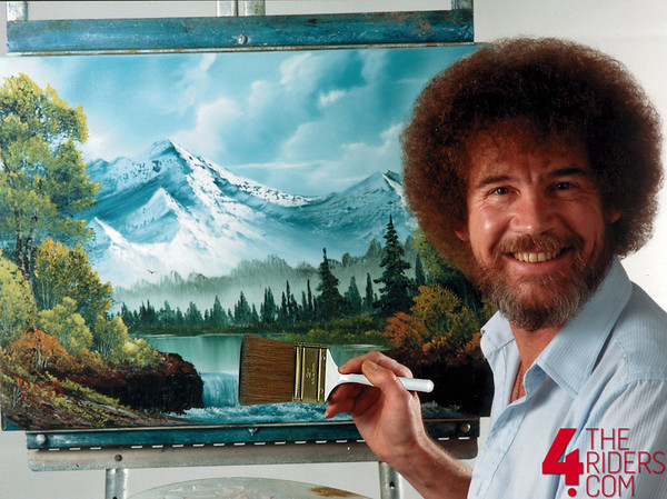 bob ross knows what's up.