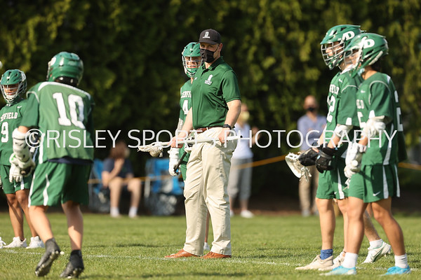 Boys JV Lacrosse vs. Cushing- May 14, 2021