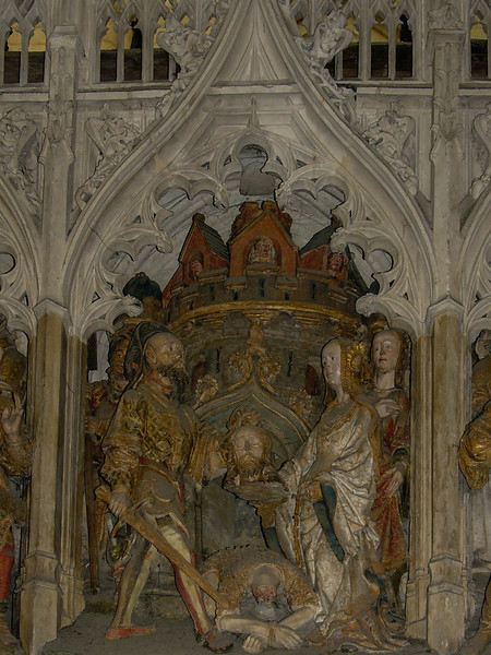 Amiens Cathedral Choir Screen, John the Baptist Beheaded
