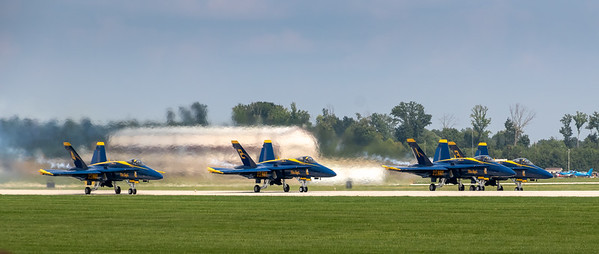 Terre Haute Air Show w Blue Angels  August 2018