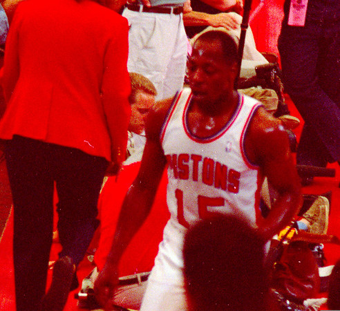 Pistons in the playoffs 1988