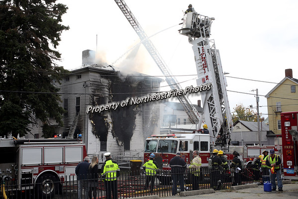 Fall River- 2nd Alarm, 3rd Street-10/27/2016